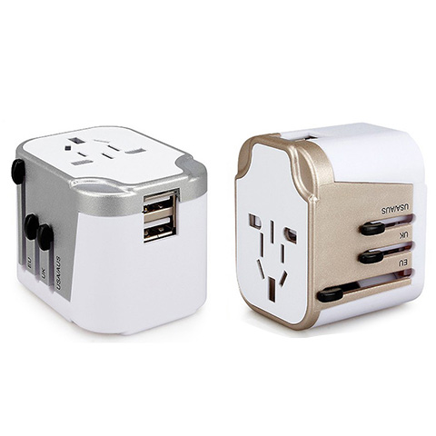 Travel Adapter + USB Charge